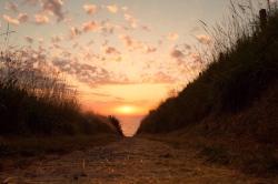 Weg zum Omaha Beach